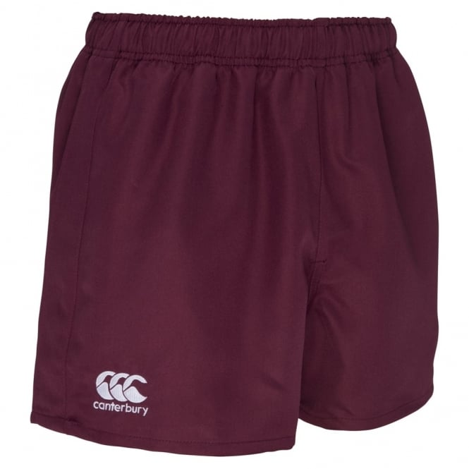 POLYESTER PROFESSIONAL SHORT MAROON