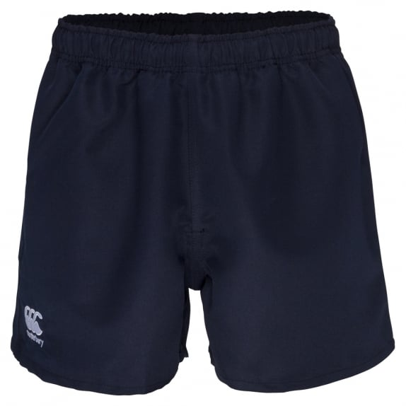 POLYESTER PROFESSIONAL SHORT NAVY - JUNIOR