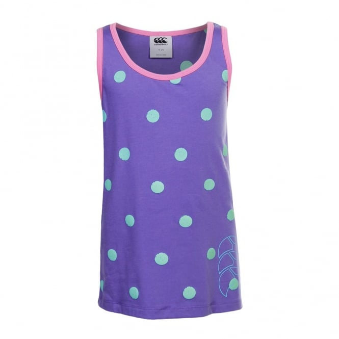 POP SINGLET DUSTED PERI