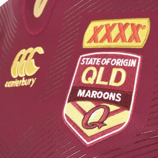 QLD PLAYER FIT ON FIELD JERSEY 2017