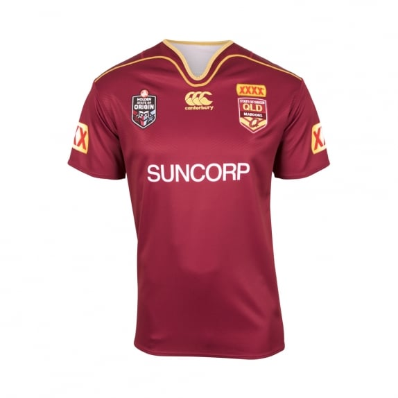 QLD REPLICA ON FIELD JERSEY 2017