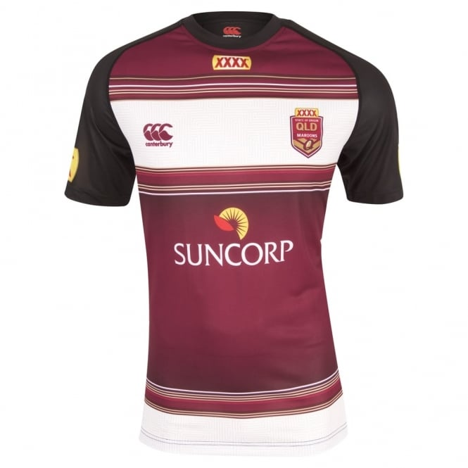 QLD REPLICA TRAINING TEE 2016
