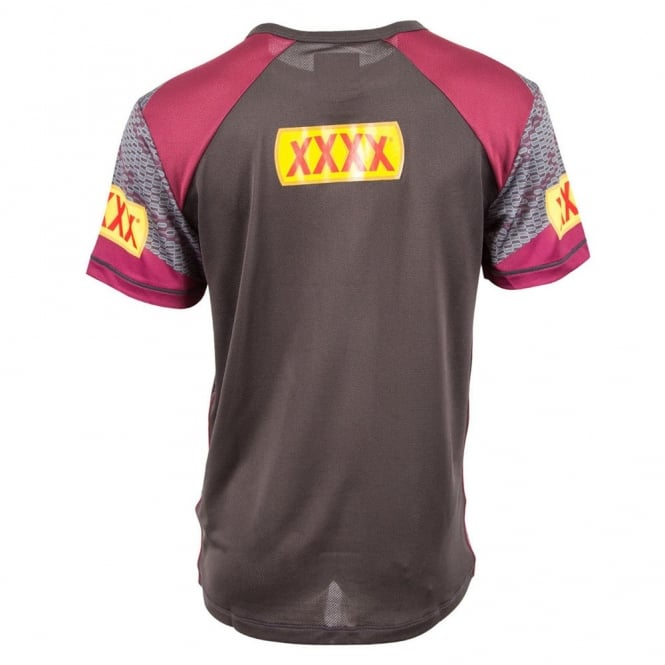 QLD REPLICA TRAINING TEE PHANTOM
