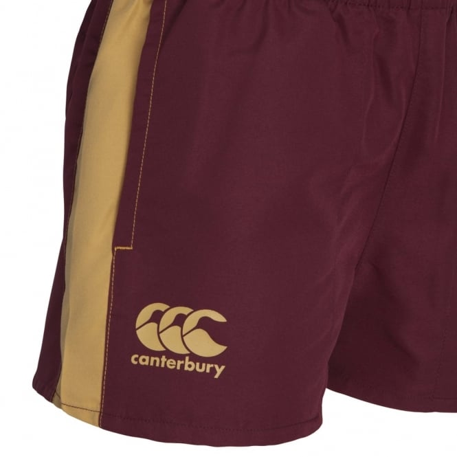 QLD SOO PERFORATED SHORT MAROON - JUNIOR