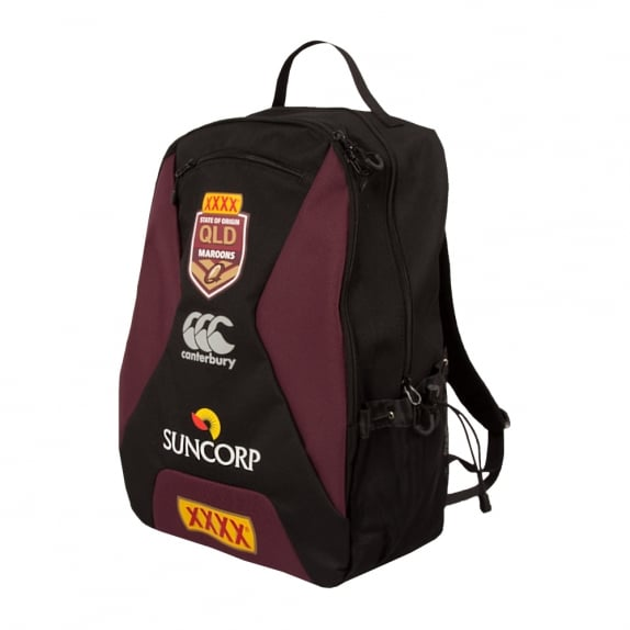 QLD SOO REPLICA BACKPACK BLACK