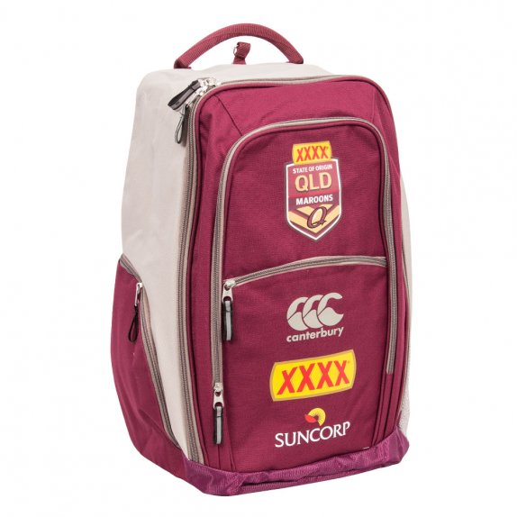QLD SOO REPLICA BACKPACK MAROON