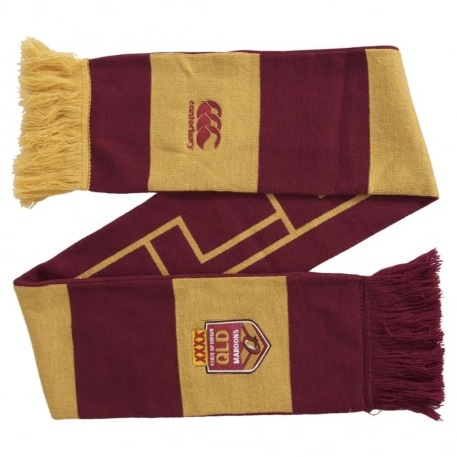 SUPPORTERS - LIC QLD SOO RETAIL SCARF MAROON