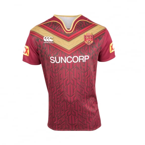 QLD SOO TRAINING JERSEY 2017