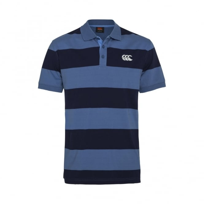 REPEAT YARN DYE STRIPE POLO