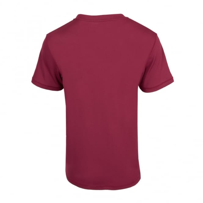 SOUTHLAND SUPPORTER TRAINING TEE MAROON 2016