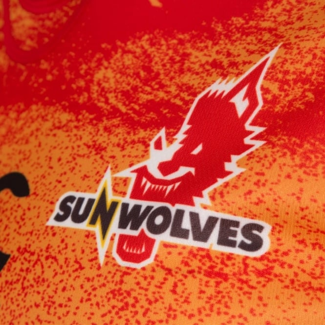 SUNWOLVES 2016 HOME PRO S/S RUGBY JERSEY