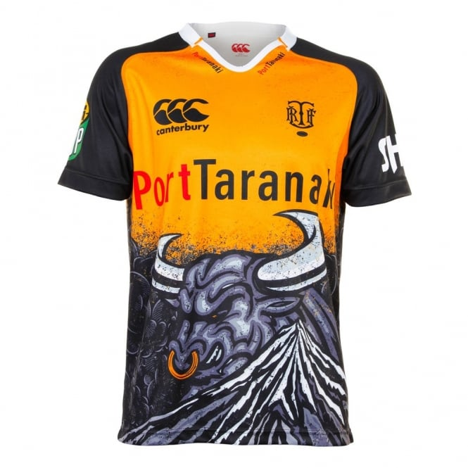 TARANAKI REPLICA ALTERNATE JSY GOLD/BLACK 2015