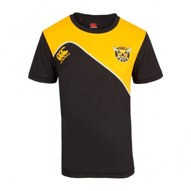 TARANAKI TRAINING TEE BLACK 2016