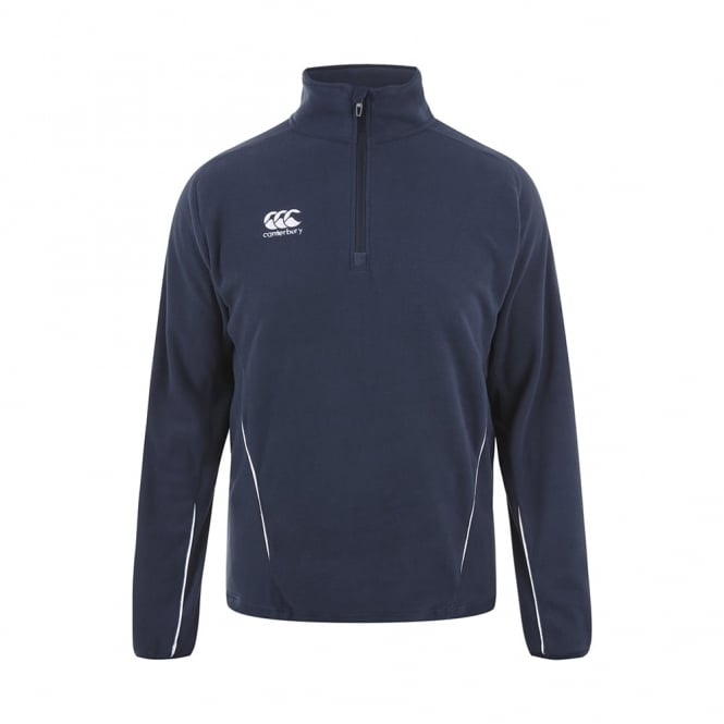 TEAM 1/4 ZIP MICRO FLEECE NAVY 2016