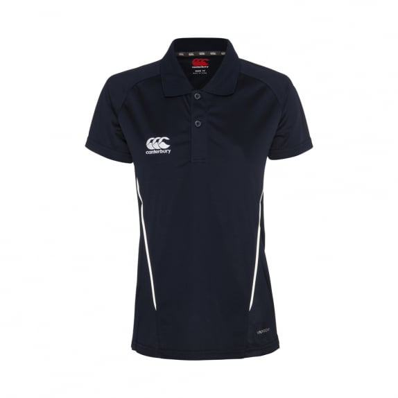TEAM DRY POLO NAVY - WOMENS