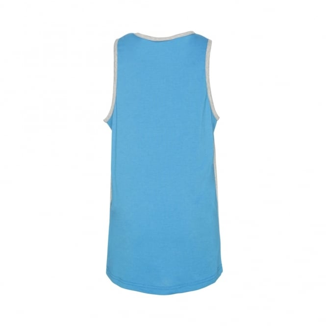 TRY LINE SINGLET MID GREY MARLE