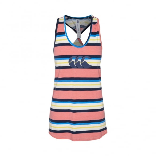 UGLIES BARLEY TWIST SINGLET DRESS BLUE