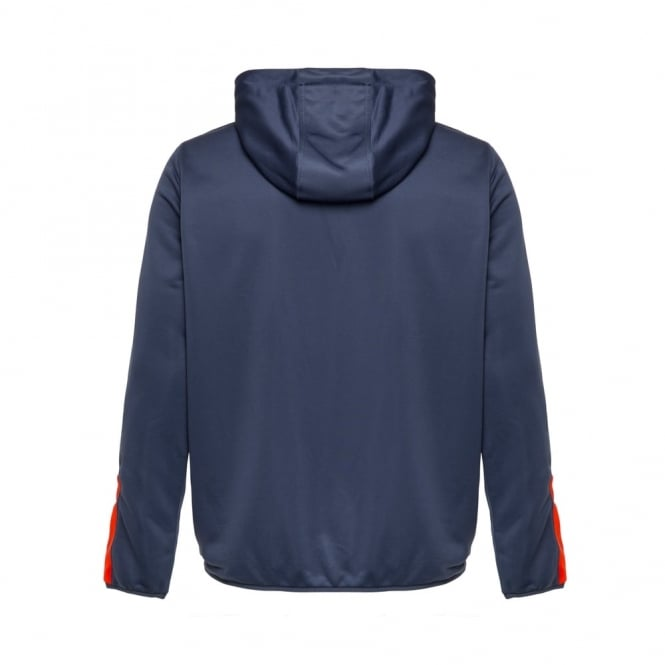 VAPODRI 1/4 ZIP POLY-KNIT HOOD