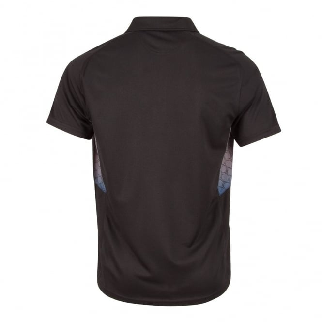 VAPODRI GRAPHIC POLO BLACK