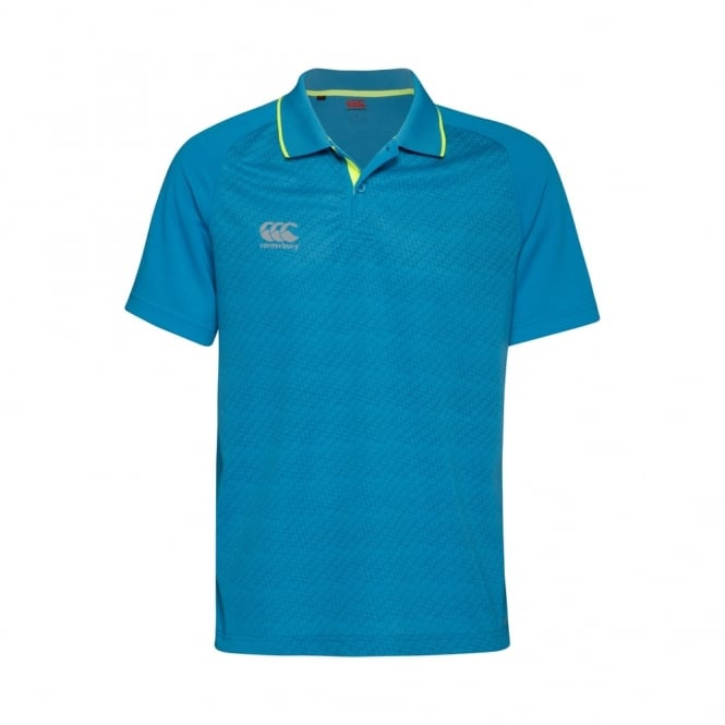 VAPODRI SUPERLIGHT S/LOGO POLO ATOMIC BLUE