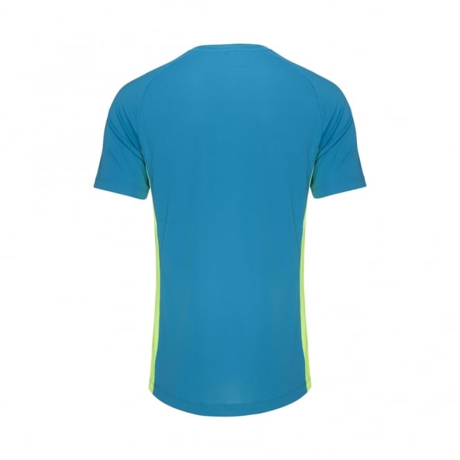 VAPODRI SUPERLIGHT S/LOGO TEE ATOMIC BLUE