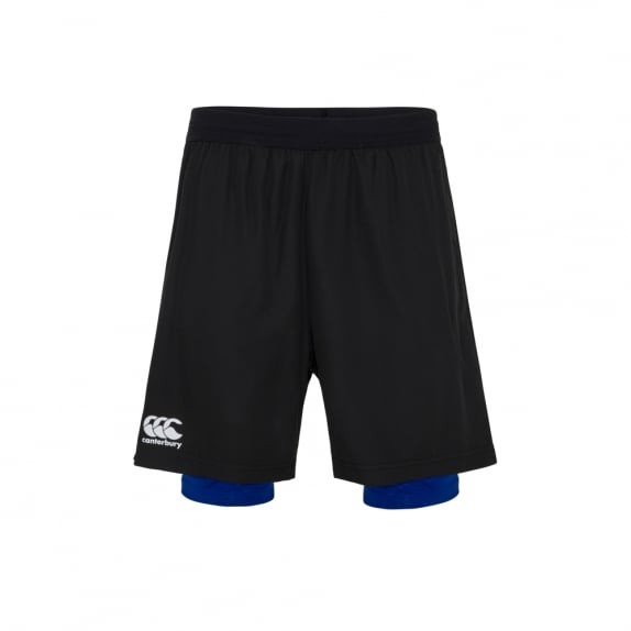VAPODRI WOVEN 2 IN 1 RUN SHORT