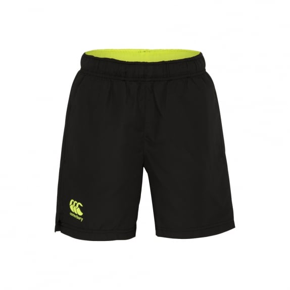 VAPODRI WOVEN SHORT JET BLACK - JUNIORS