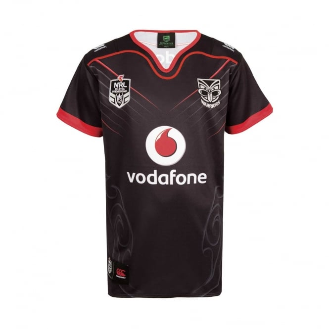 Vodafone Warriors REPLICA ON FIELD HOME JERSEY 2018 - JUNIORS