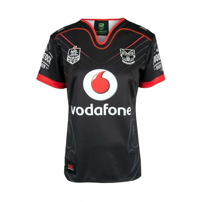 Vodafone Warriors REPLICA ON FIELD HOME JERSEY 2018 - WOMENS