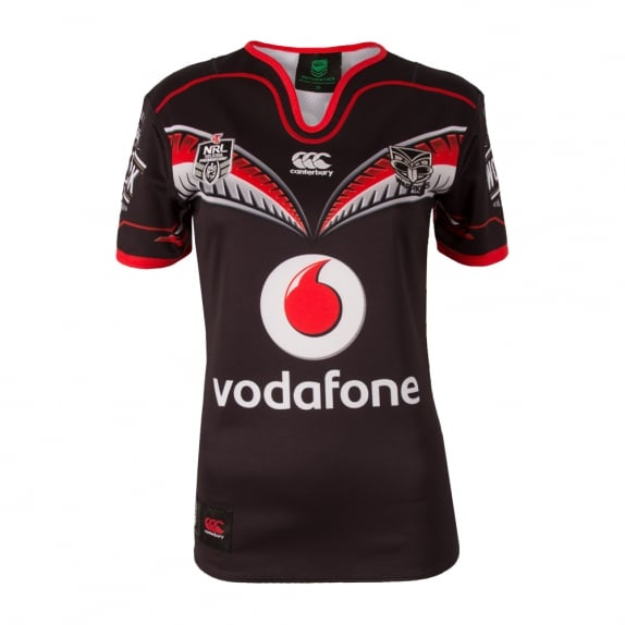 WARRIORS 2016 HOME JERSEY BLACK - WOMENS