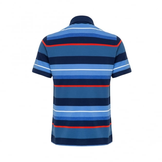 YARN DYE STRIPE POLO